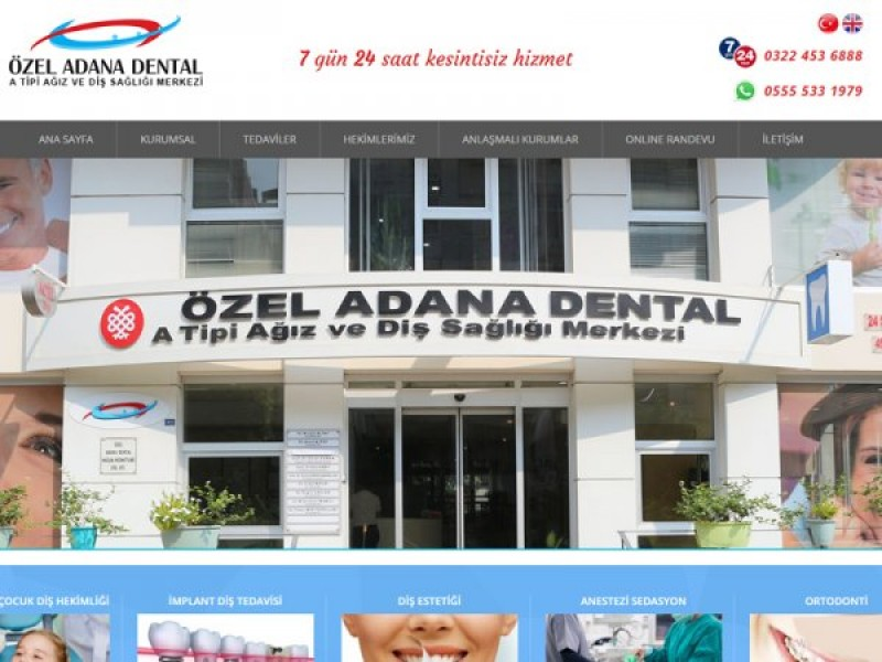 Özel Adana Dental Diş Sağlığı Merkezi